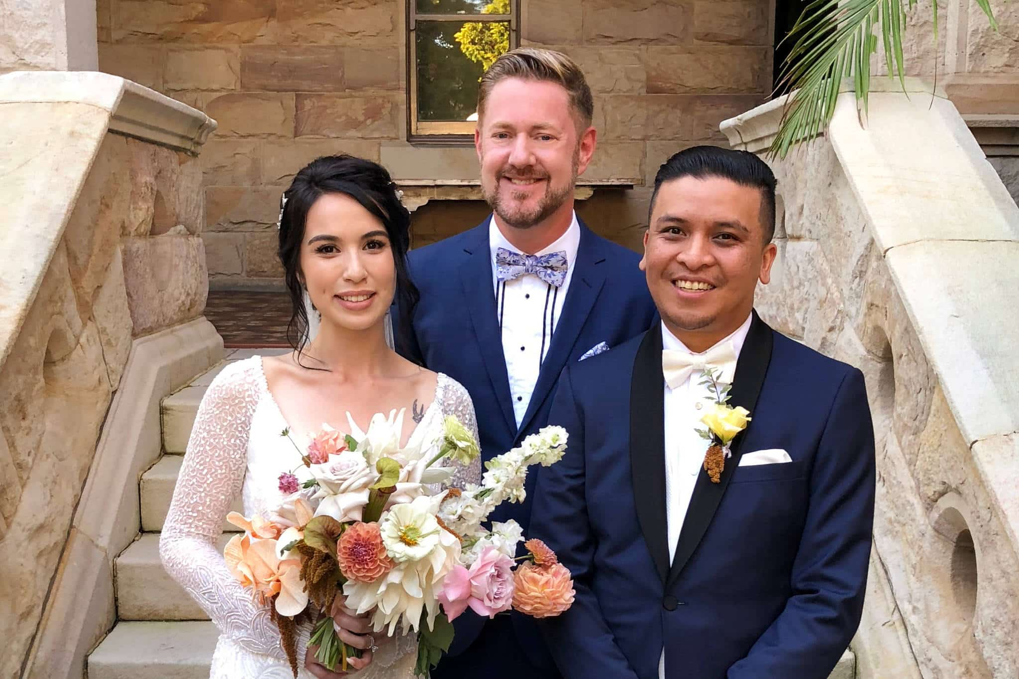 Curzon Hall Wedding - Stephen Lee Sydney Marriage Celebrant