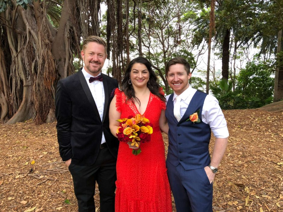 Amanda and Chris - Balmain Wedding - Marriage Celebrant Sydney Stephen Lee