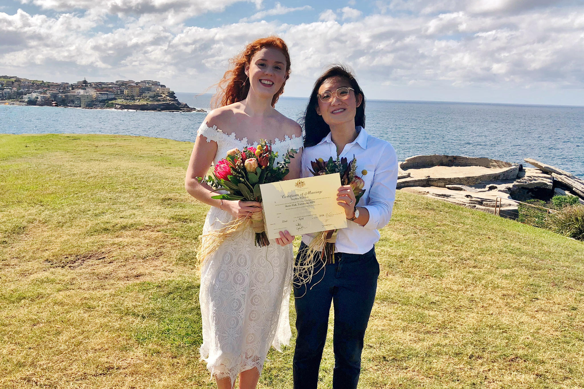Bondi Same Sex Wedding V2 - Stephen Lee Sydney Marriage Celebrant