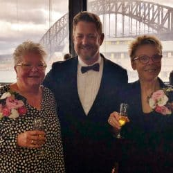 Terrie and Anne - Sydney Same Sex Marriage Celebrant Stephen Lee