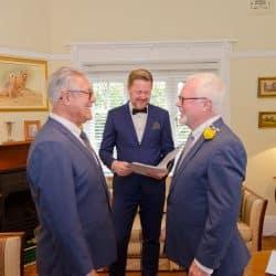 David and Jose Wedding - Stephen Lee Sydney Same Sex Marriage Celebrant