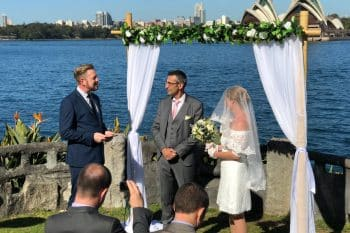 Copes Lookout Kiss Me Quick Wedding - Marriage Celebrant Sydney Stephen Lee