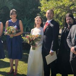 Ben and Yvette Wedding - Sydney Marriage Celebrant Stephen Lee