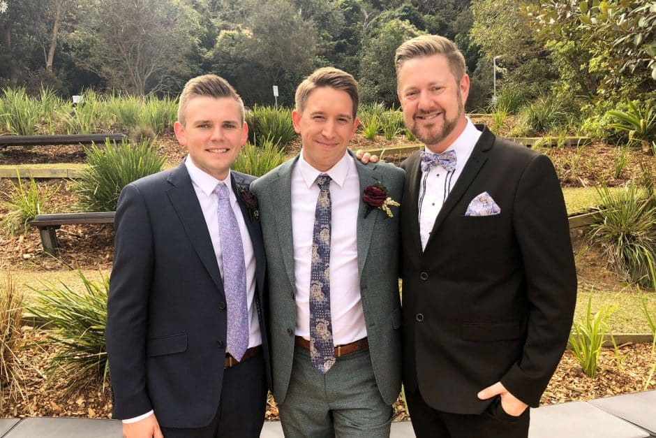 Dean and Nathan Wedding at Sergeants Mess - Stephen Lee Sydney Same Sex Marriage Celebrant