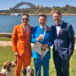 Reece and David Same Sex Wedding - Stephen Lee Sydney Marriage Celebrant