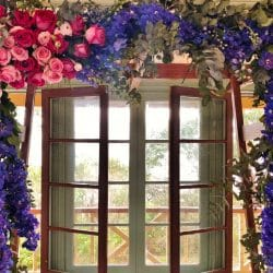 Q Station Wedding Flowers