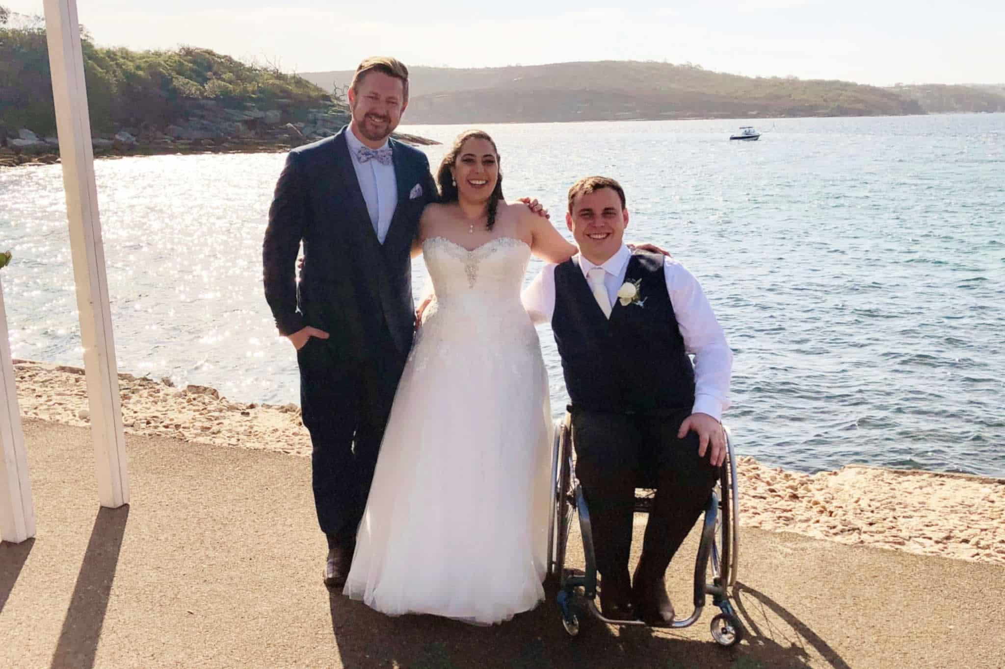 Bec and Max - Marriage Celebrant Sydney Stephen Lee