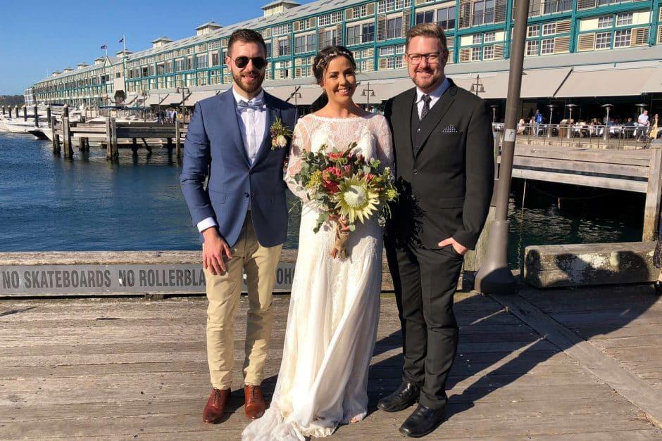 Grace and Brendan Ovolo Woolloomooloo Wedding
