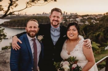Gunners Barracks Wedding - Male Sydney Marriage Celebrant Stephen Lee