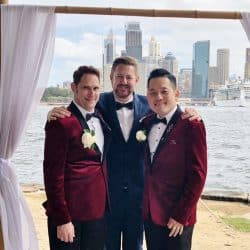 HERO John and Leo - Marriage Celebrant Sydney Stephen Lee