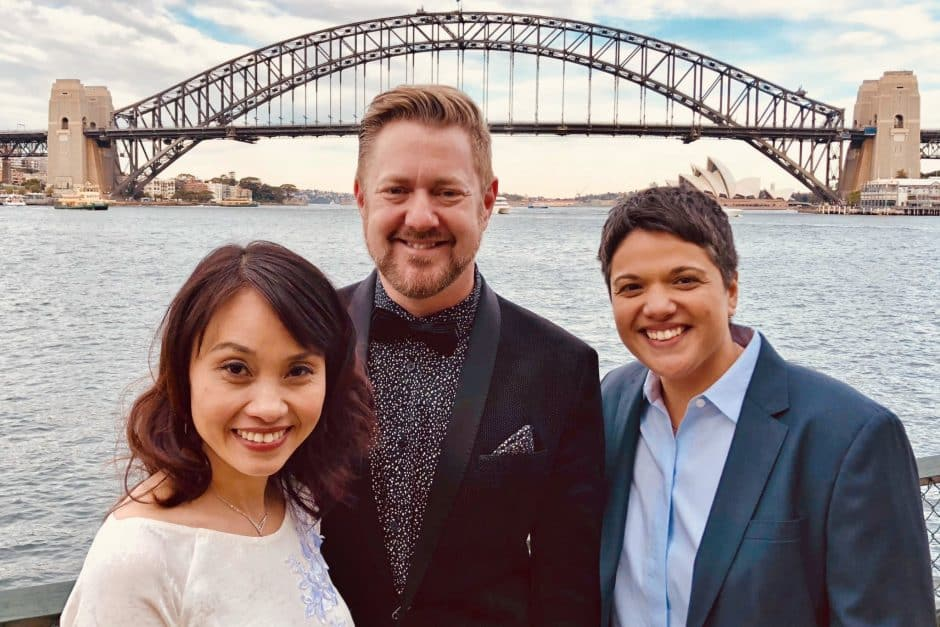 Sharon and Diep Wedding - Sydney Marriage Celebrant Stephen Lee