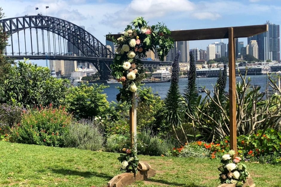 Two Arches - Clark Park Wedding - Marriage Celebrant Sydney Stephen Lee