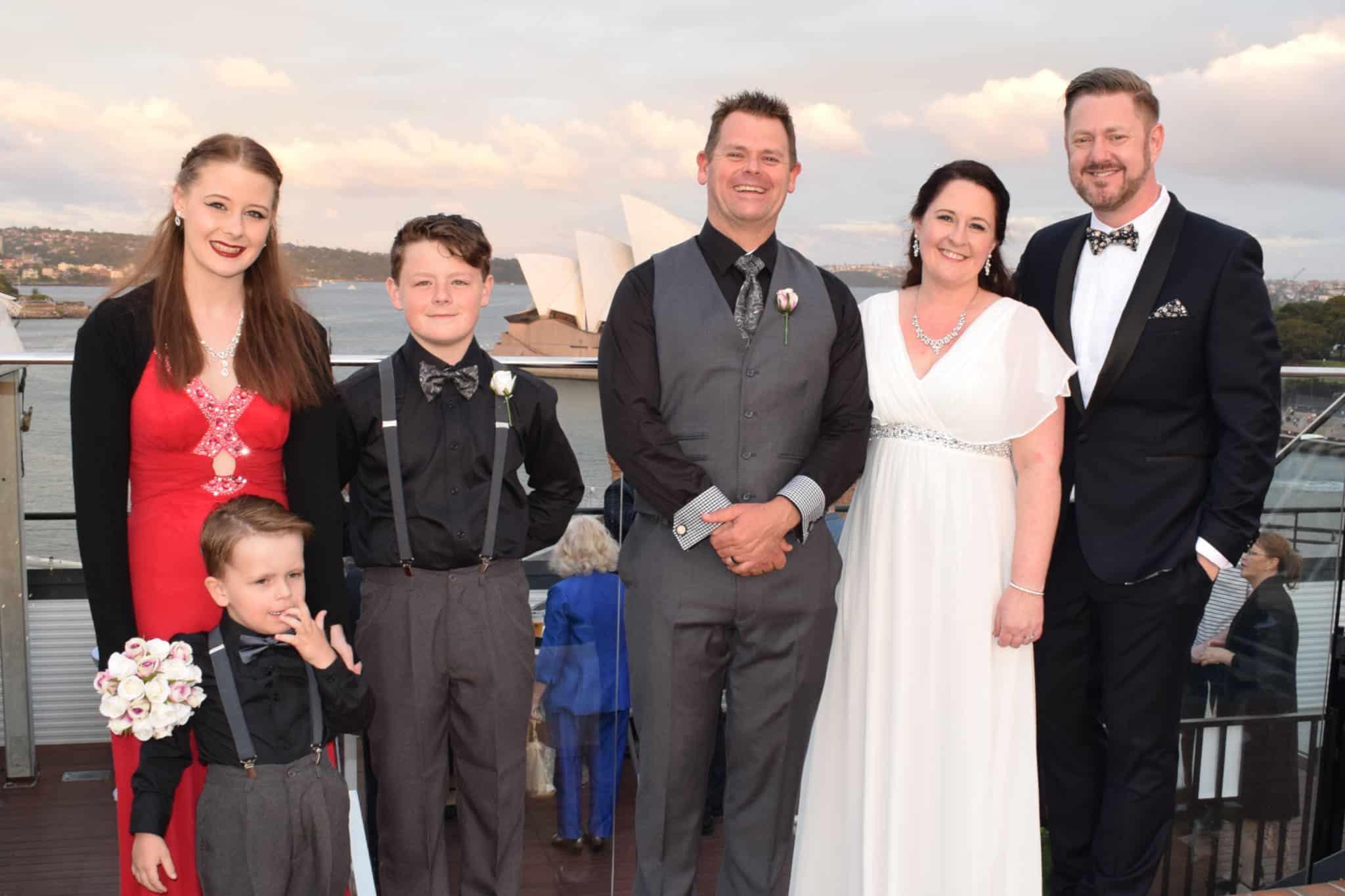Family Wedding - Marriage Celebrant Sydney Stephen Lee