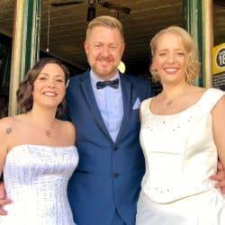 Leyla and Camilla Wedding - Sydney Same Sex Marriage Celebrant Stephen Lee