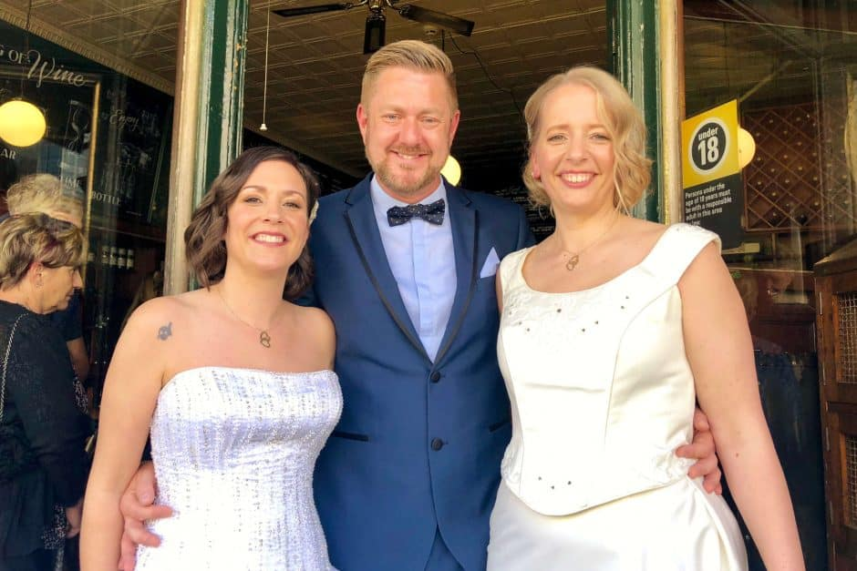 Leyla and Camilla Wedding - Sydney Same Sex Marriage Celebrant Stephen Lee