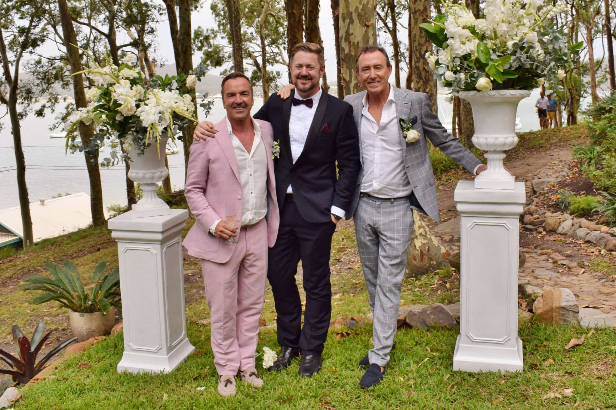 Jeremy and Tim Central Coast Wedding - Stephen Lee Sydney Marriage Celebrant