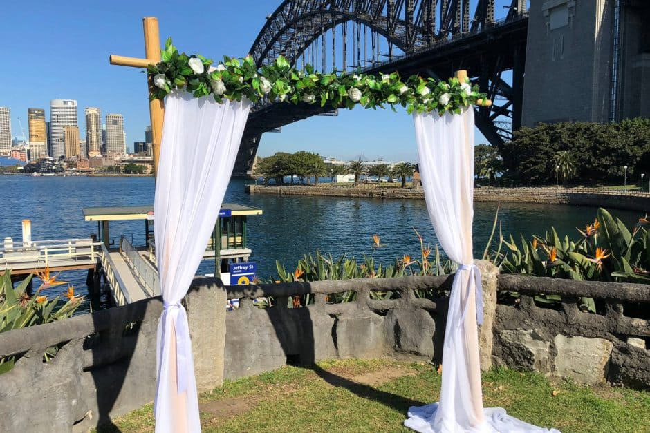 Wedding Arch Copes Lookout