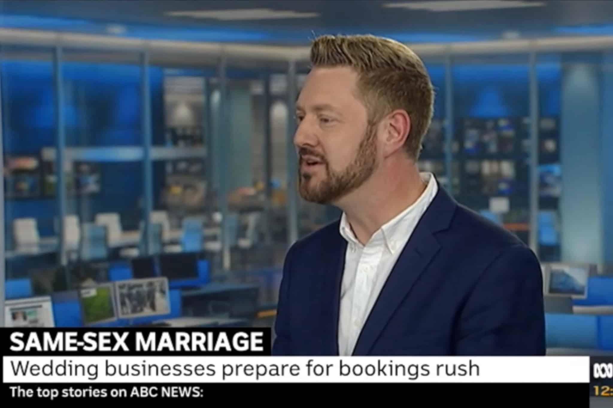ABC Studio Interview - Sydney Marriage Celebrant Stephen Lee