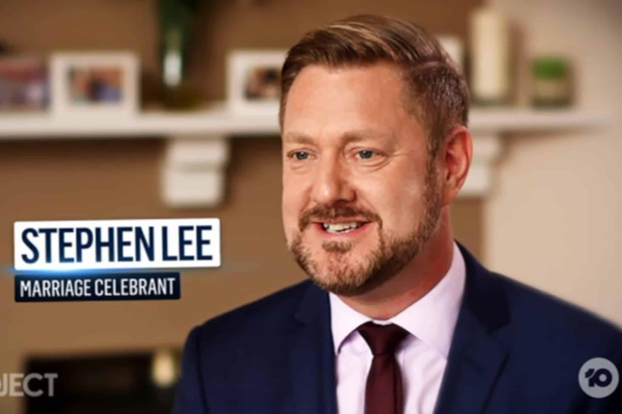 C10 Interview - Sydney Marriage Celebrant Stephen Lee