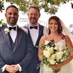 Royal Botanic Garden Wedding - Sydney Marriage Celebrant Stephen Lee