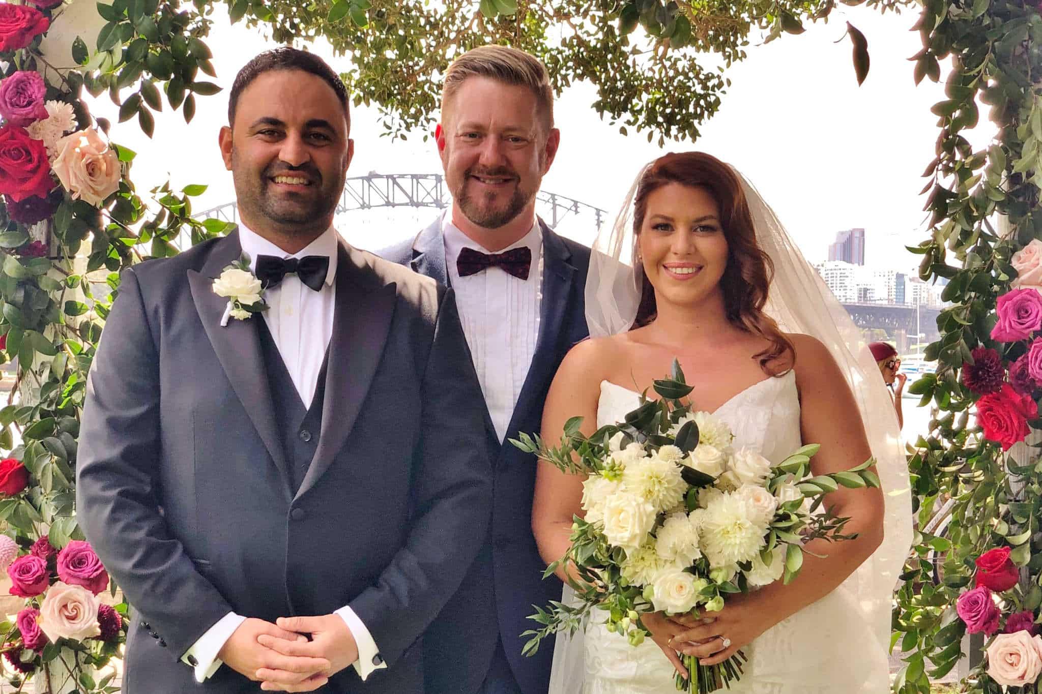 Royal Botanic Garden Wedding - Sydney Marriage Celebrant Stephen Lee