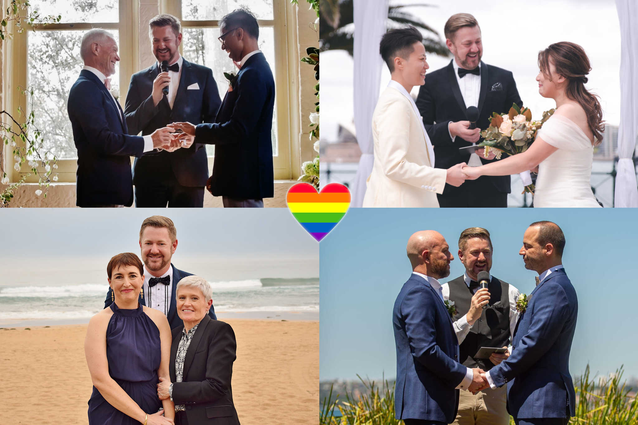 Same Sex Weddings - Stephen Lee Sydney Marriage Celebrant