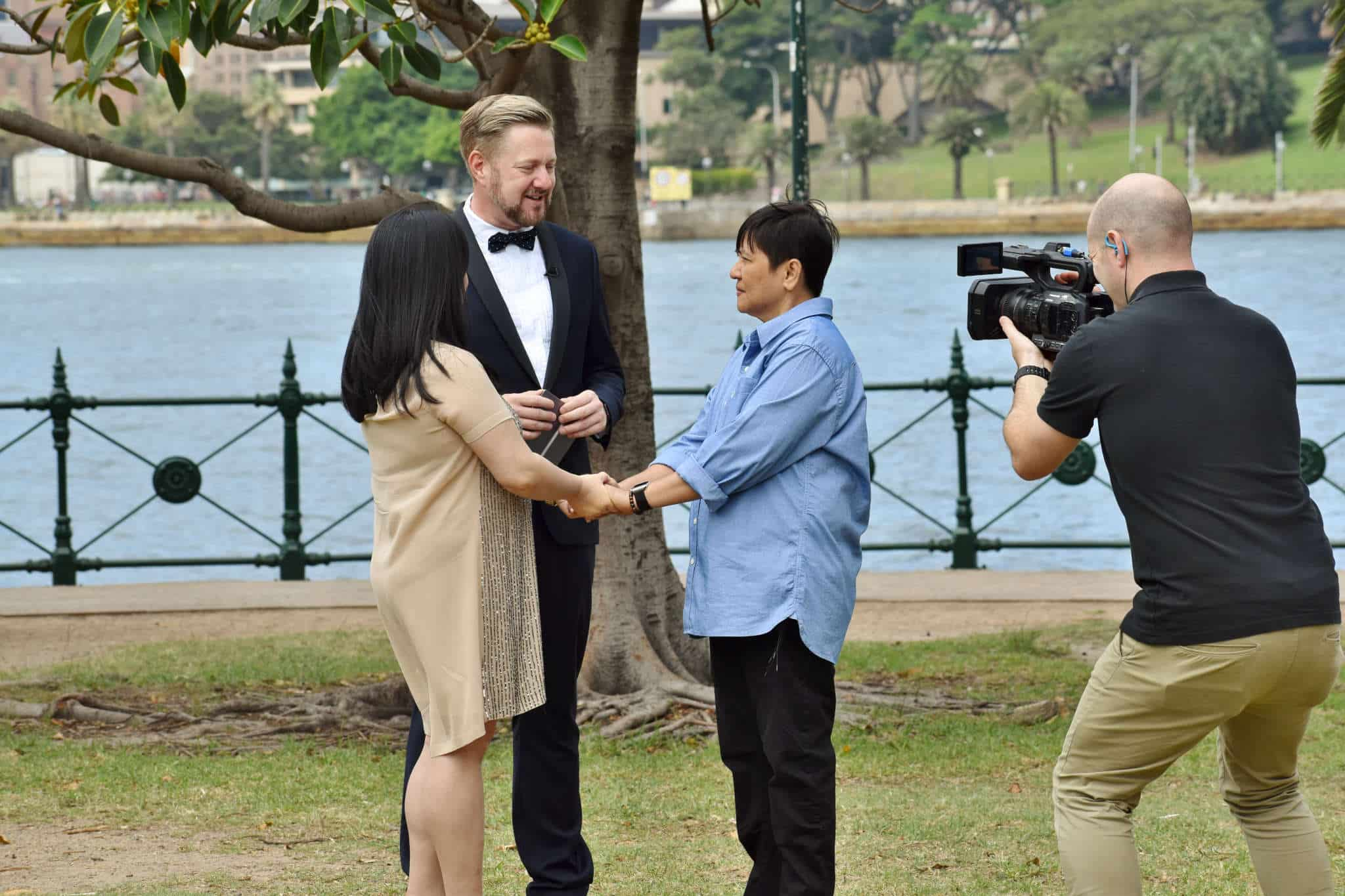Your Money Interview - Sydney Mariage Celebrant Stephen Lee