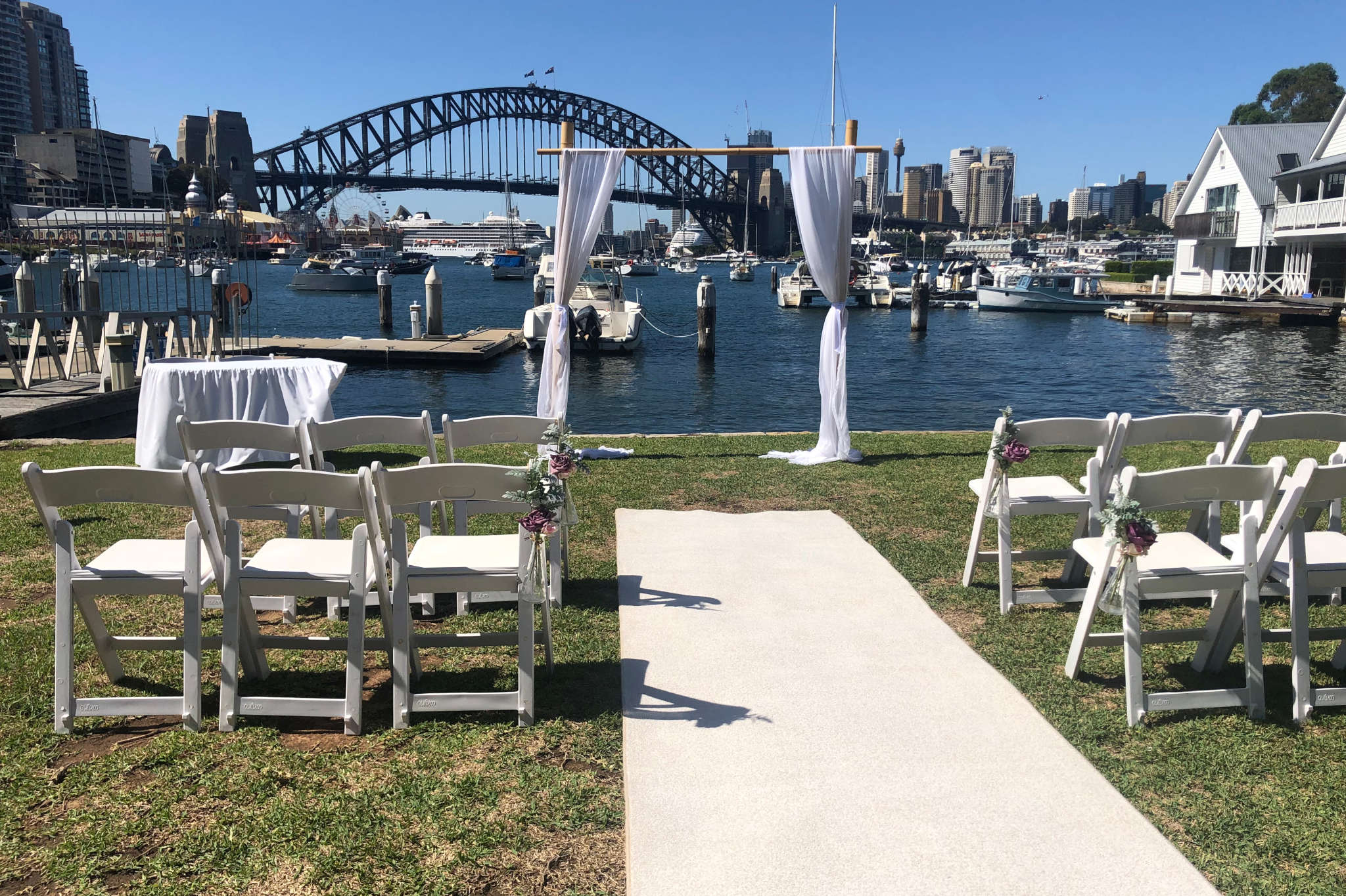 Styling Package - Sydney Marriage Celebrant Stephen Lee