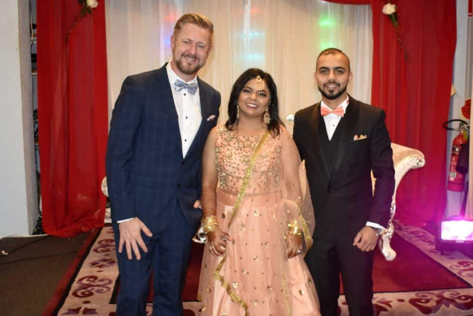 Anil and Anum - Stephen Lee Marriage Celebrant Sydney