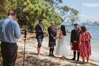 Camera on beach - Stephen Lee Marriage Celebrant Sydney