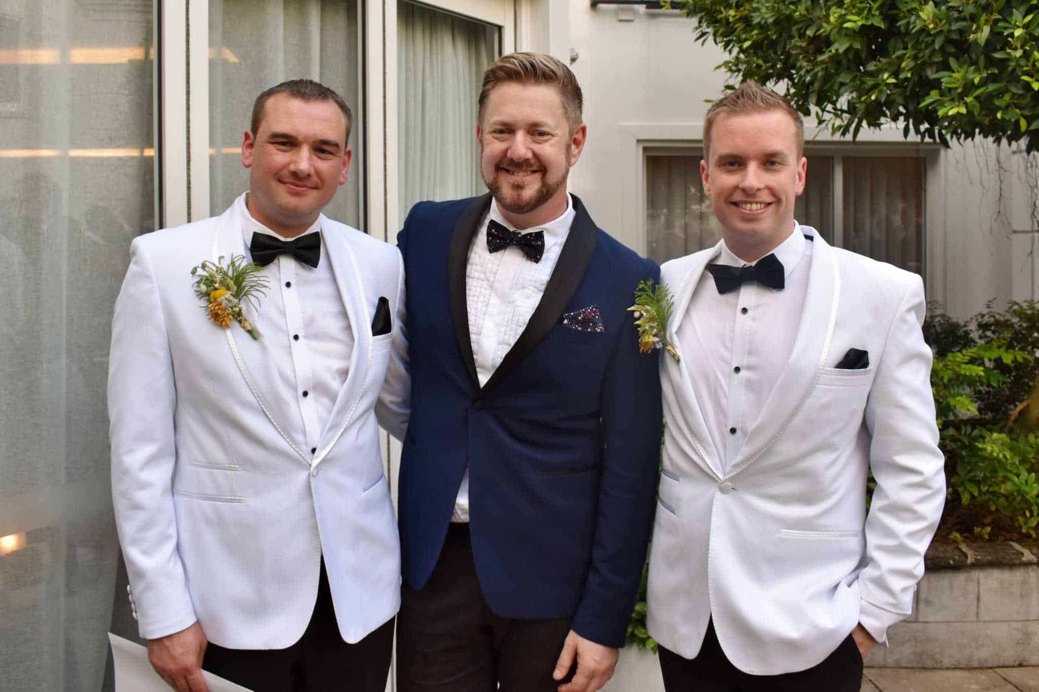 Nathan and Mark Wedding - Sydney Marriage Celebrant Stephen Lee