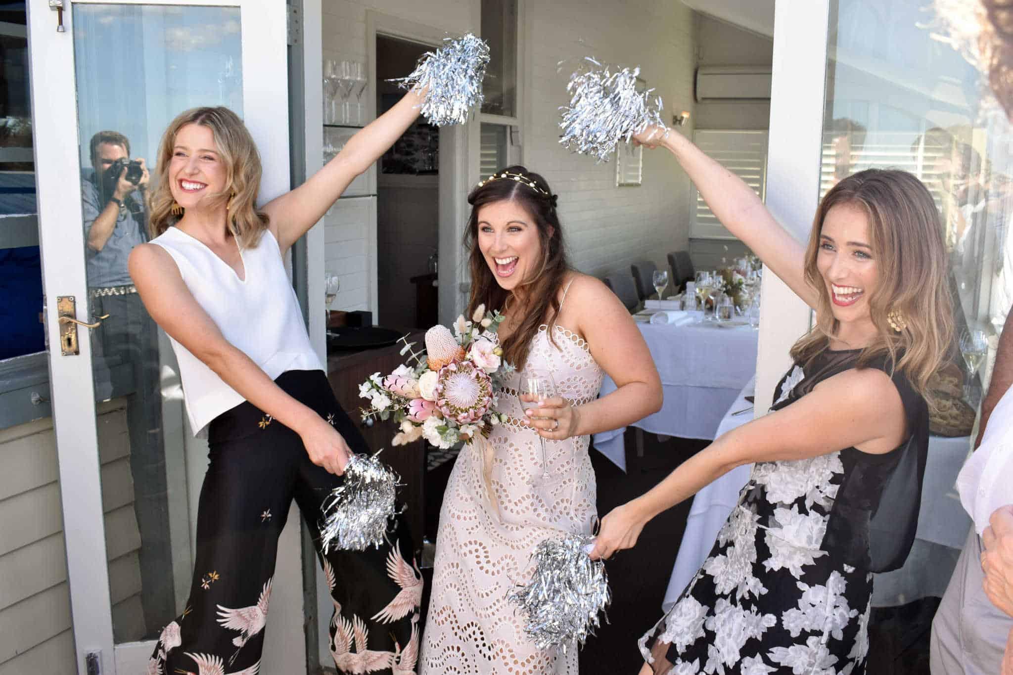 Sophie and Nat Wedding at Pilu Freshwater - Marriage Celebrant Sydney Stephen Lee