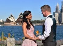 Justin and Nayana - Kiss Me Quick Wedding - Sydney Marriage Celebrant Stephen Lee