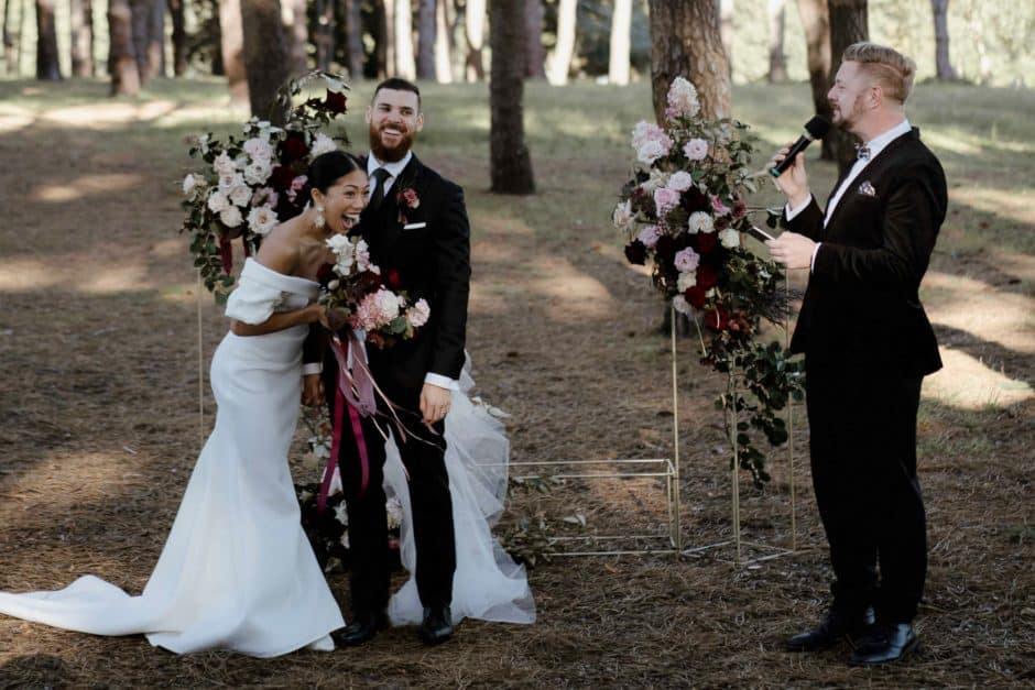 Centennial Park Wedding - Stephen Lee Sydney Marriage Celebrant