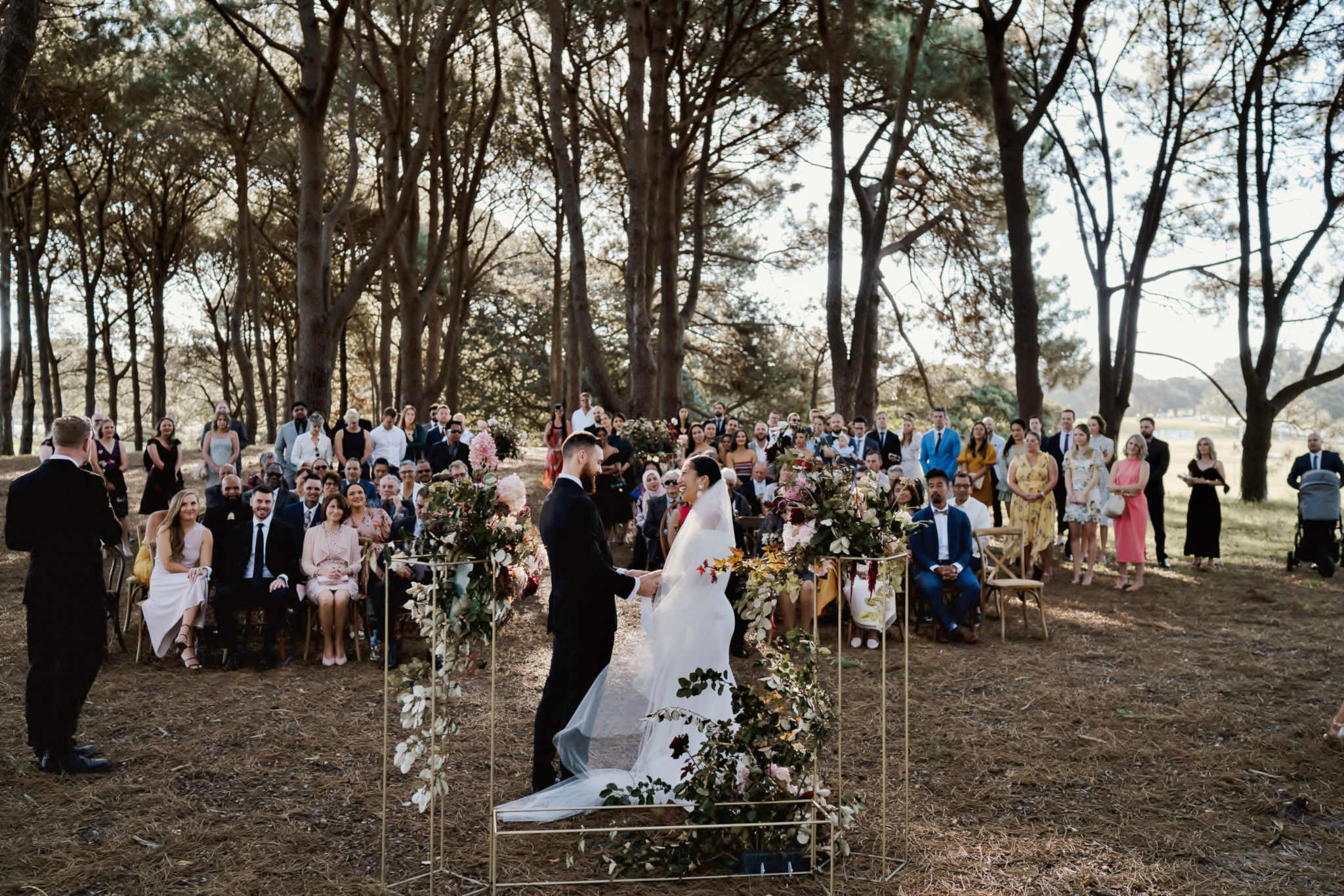 Kim and Dan Everyone - Sydney Marriage Celebrant Stephen Lee