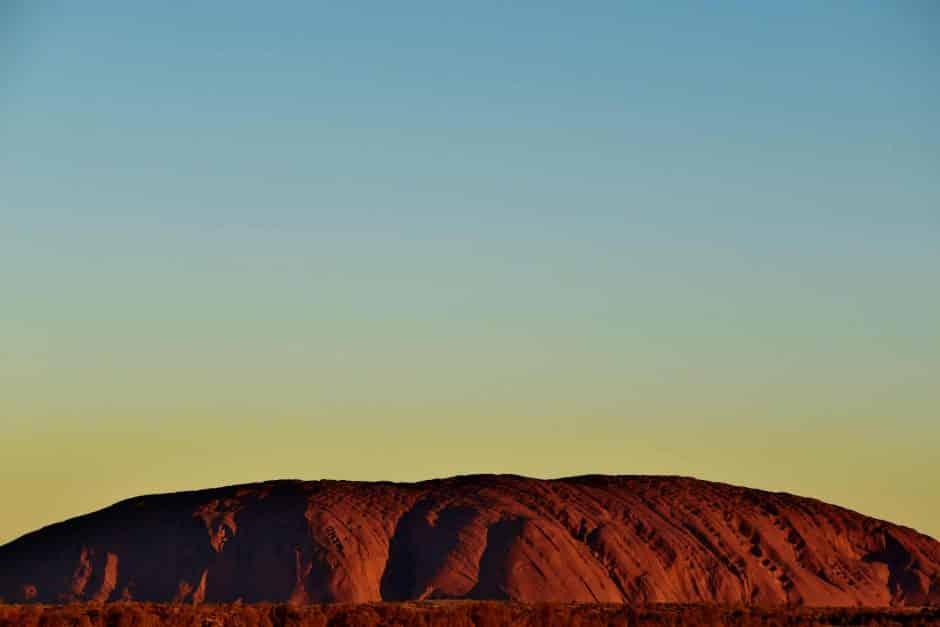 Uluru Wedding Sunset - Stephen Lee Marriage Celebrant Sydney