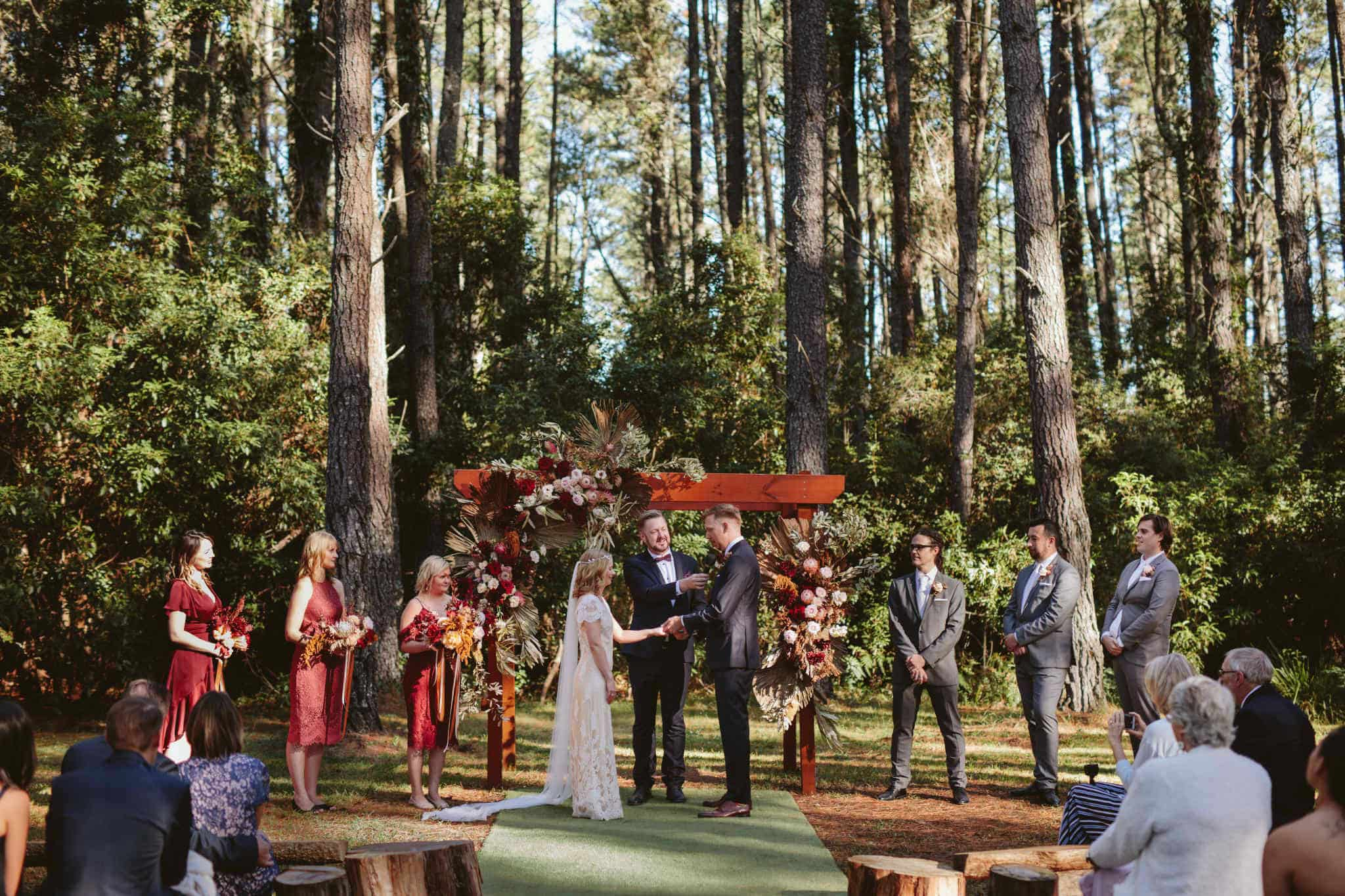 Bilpin Resort Wedding - Stephen Lee Sydney Marriage Celebrant