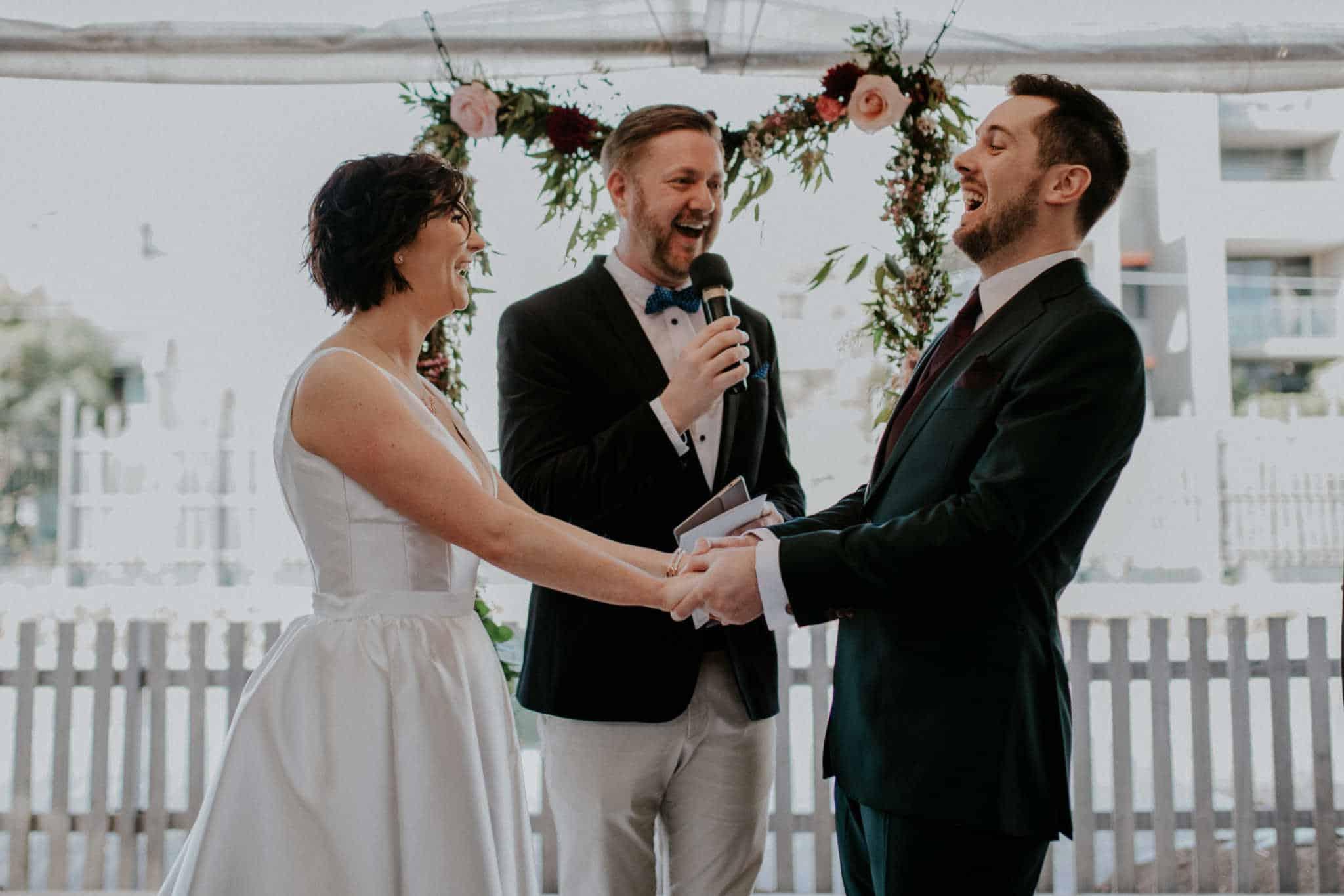 Camperdown Commons Wedding - Stephen Lee Marriage Celebrant Sydney