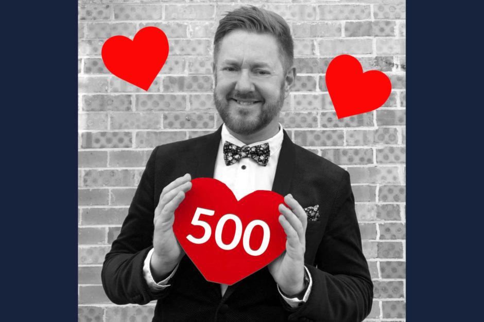 500 Weddings - Stephen Lee Marriage Celebrant Sydney