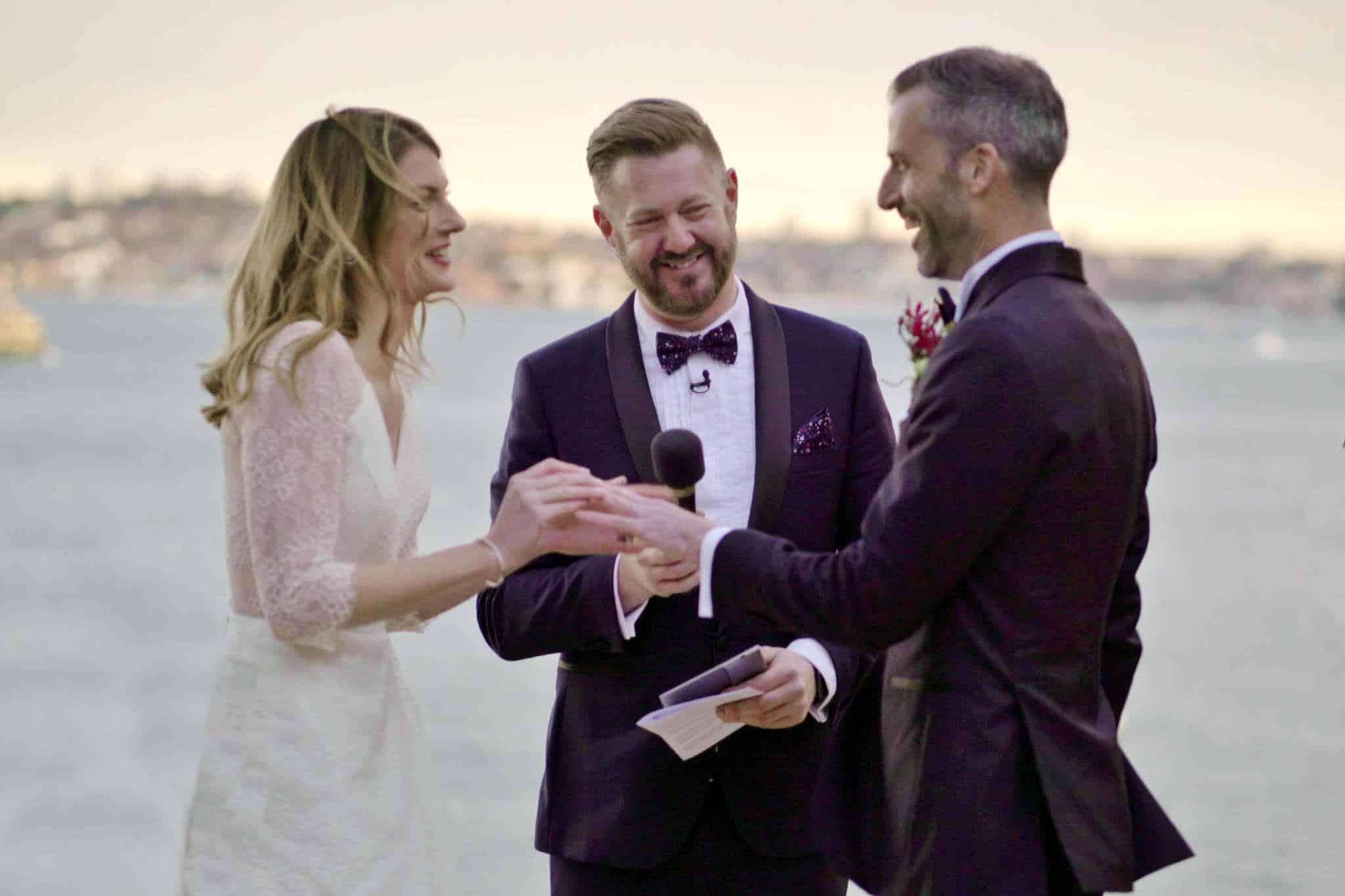 Sergeants Mess Wedding - Stephen Lee Marriage Celebrant Sydney