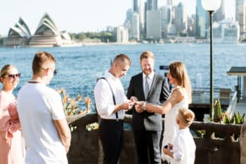 Copes Lookout Wedding - Sydney Marriage Celebrant Stephen Lee