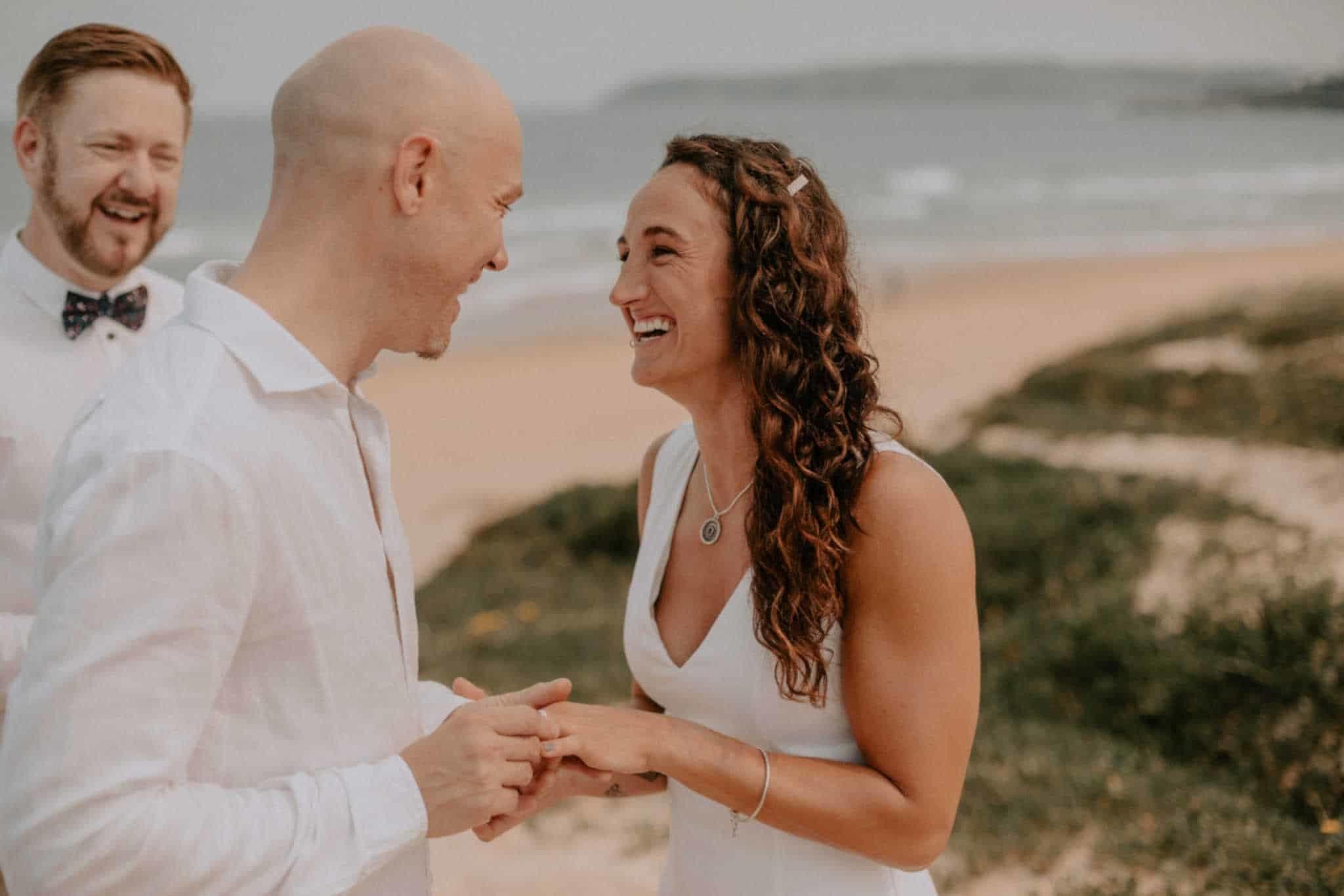Northern Beaches Wedding - Stephen Lee Sydney Marriage Celebrant