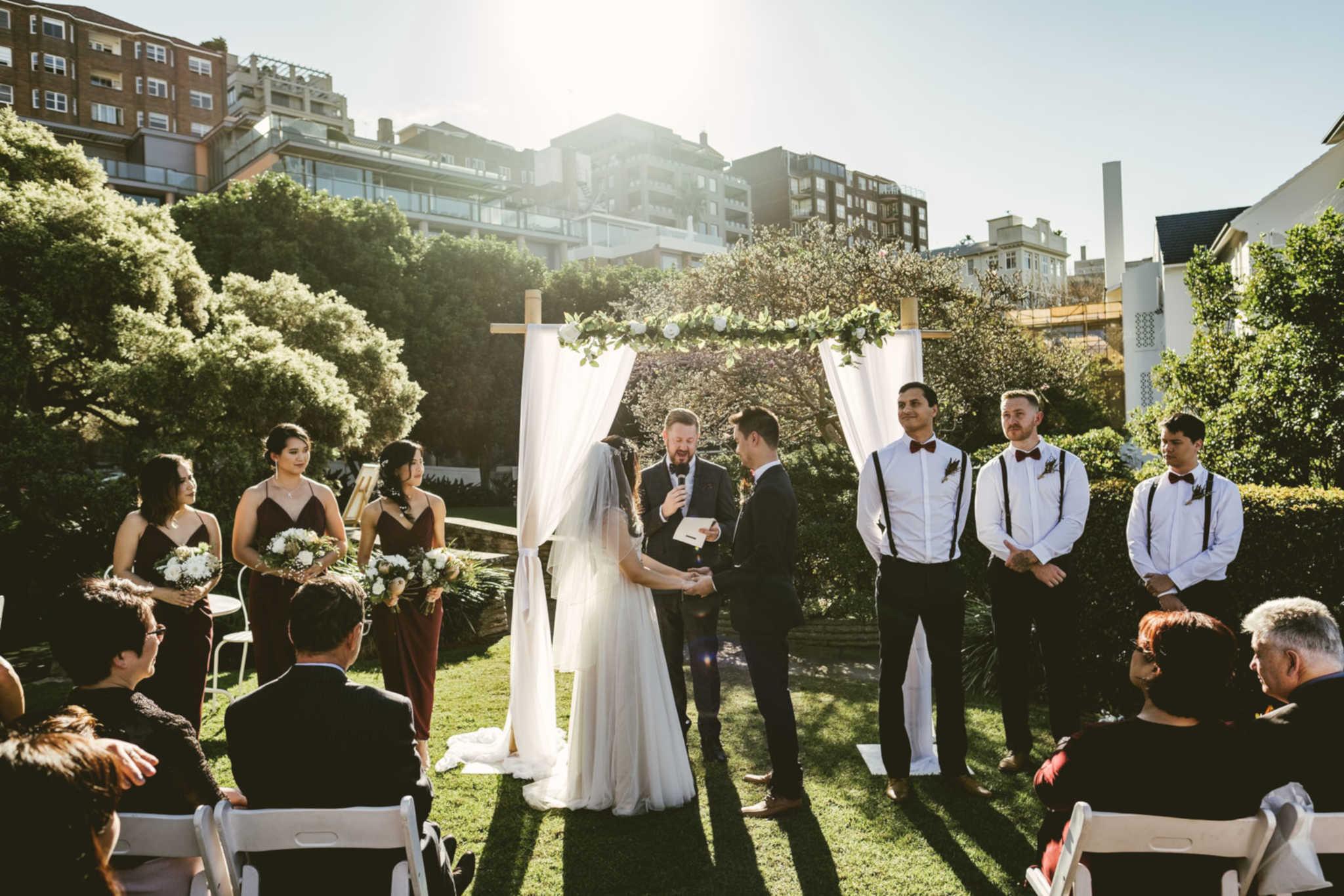 Elizabeth Bay Wedding - Stephen Lee Marriage Celebrant Sydney