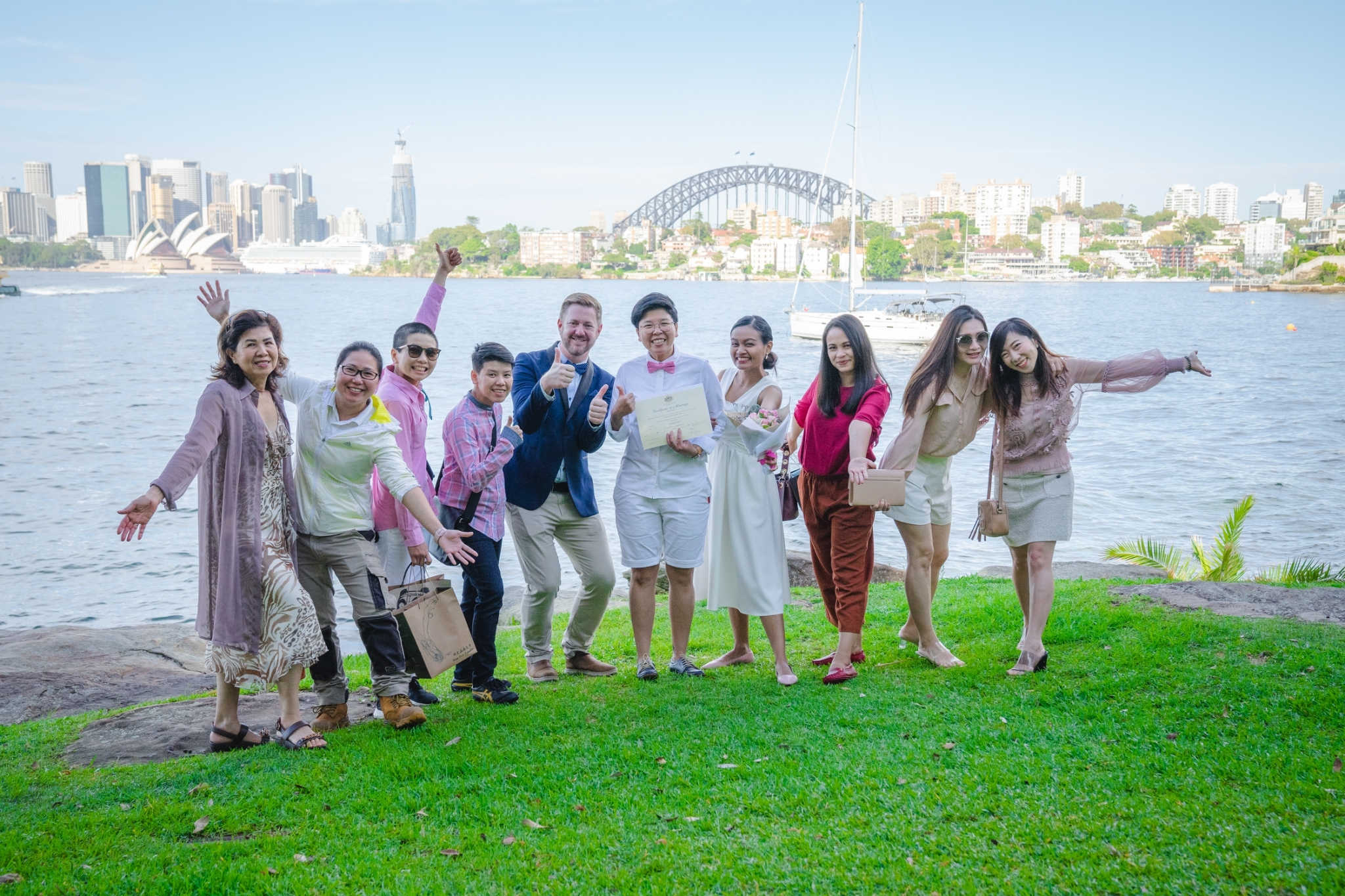 Cremorne Point Wedding - Stephen Lee Marriage Celebrant Sydney