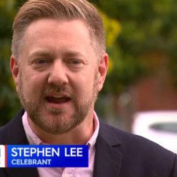 Coronavirus COVID19 Weddings - Nine News Australia - Stephen Lee Marriage Celebrant Sydney
