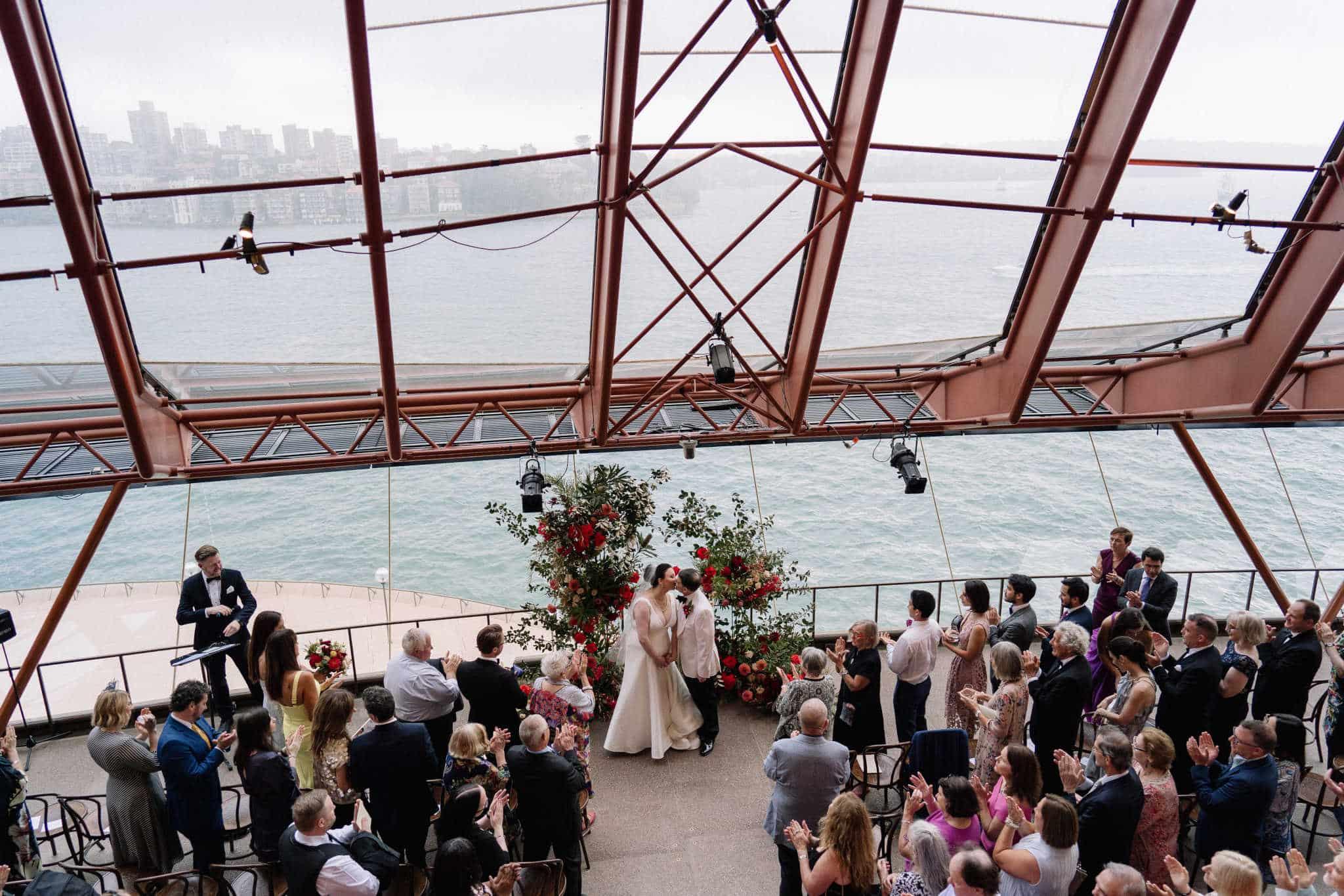 Sydney Opera House Wedding - Stephen Lee Marriage Celebrant Sydney