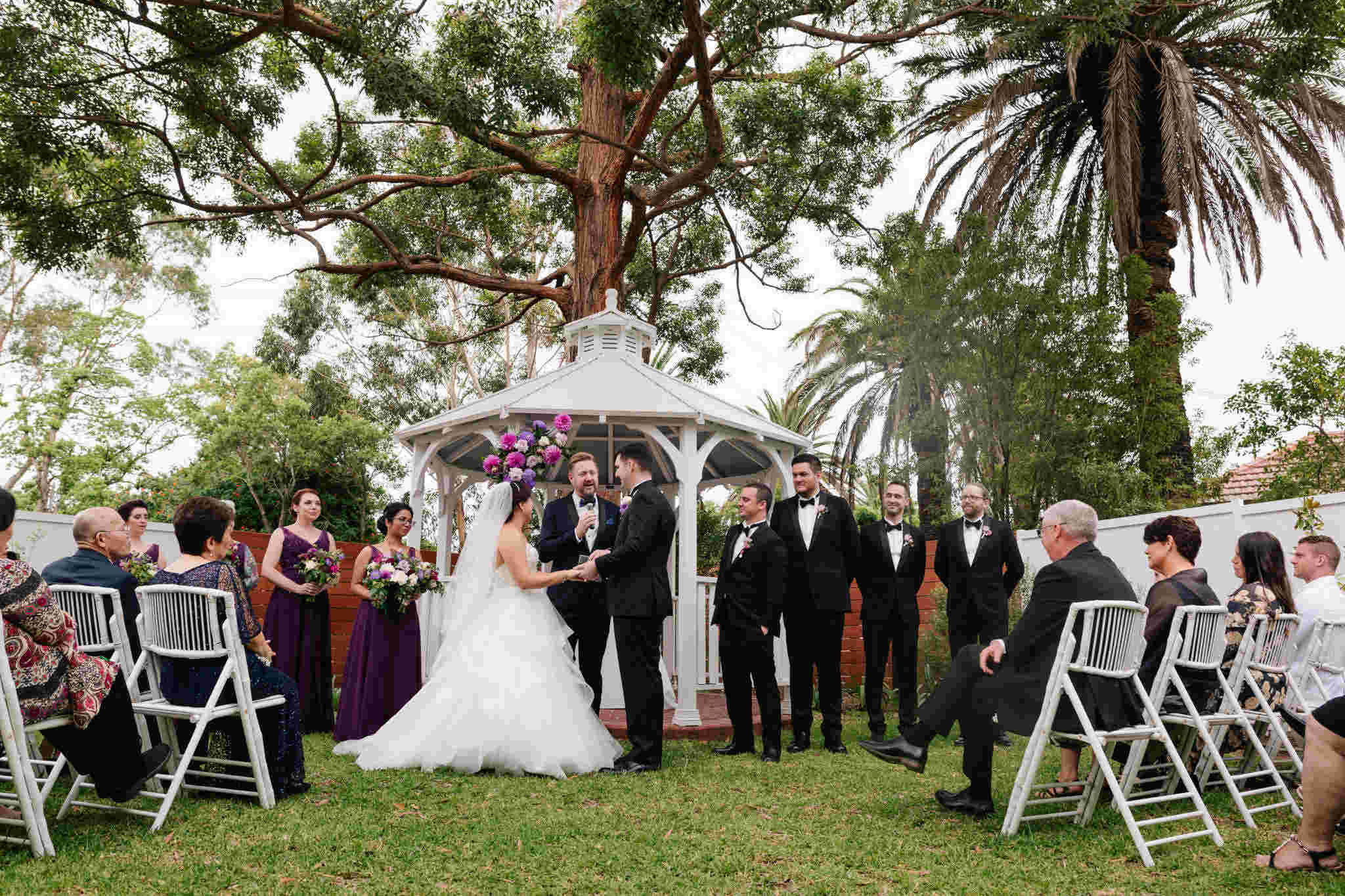 Cropley House Garden Wedding - Stephen Lee Marriage Celebrant Sydney Male