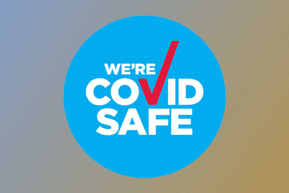 COVID Safe Logo - Stephen Lee Marriage Celebrant Sydney