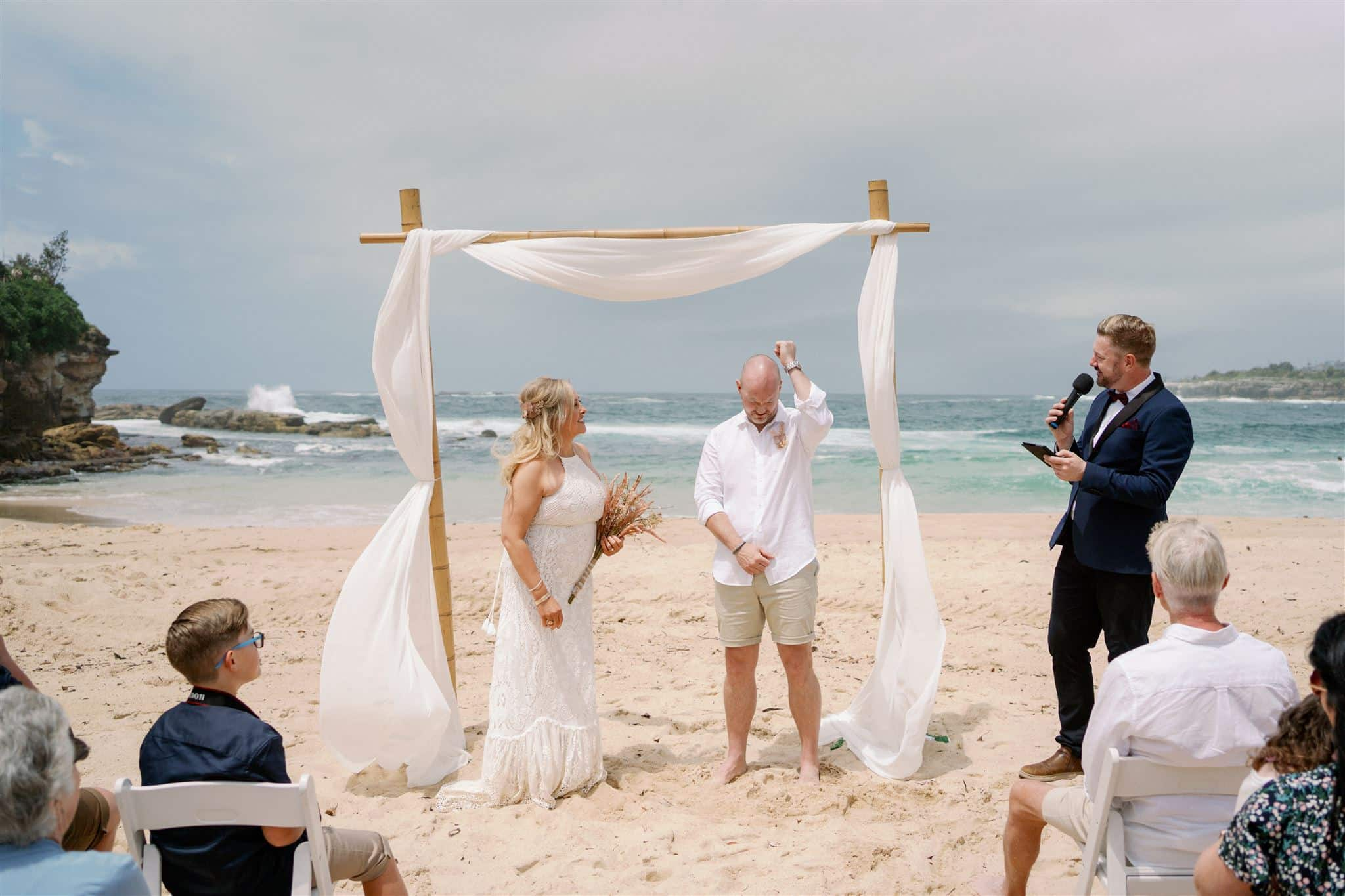 Coogee Beach Wedding - Sydney Marriage Celebrant Stephen Lee