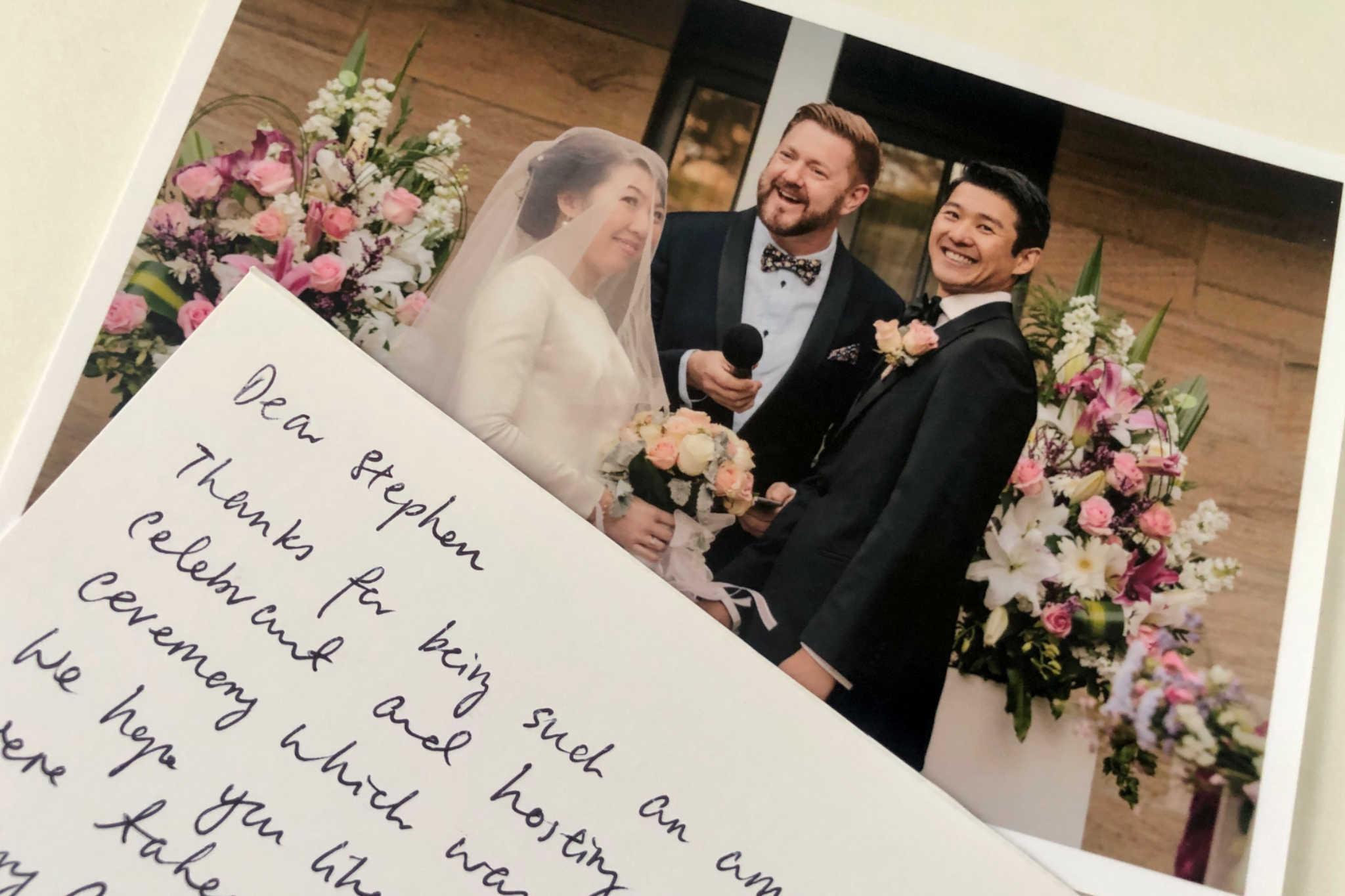 Gunners Barracks Wedding Review - Sydney Marriage Celebrant Stephen Lee